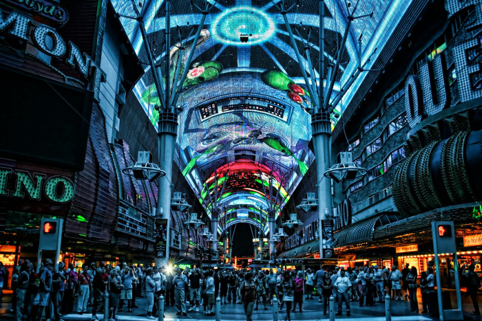 5. Fremont Street Experience