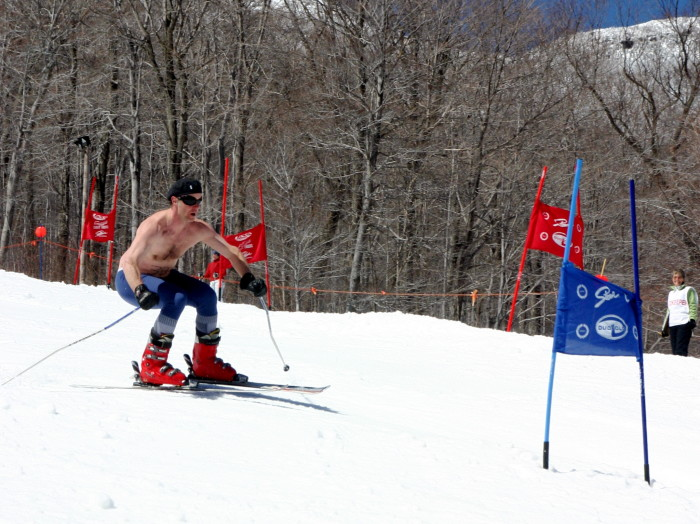 9) They're skiing down the mountain shirtless by March.