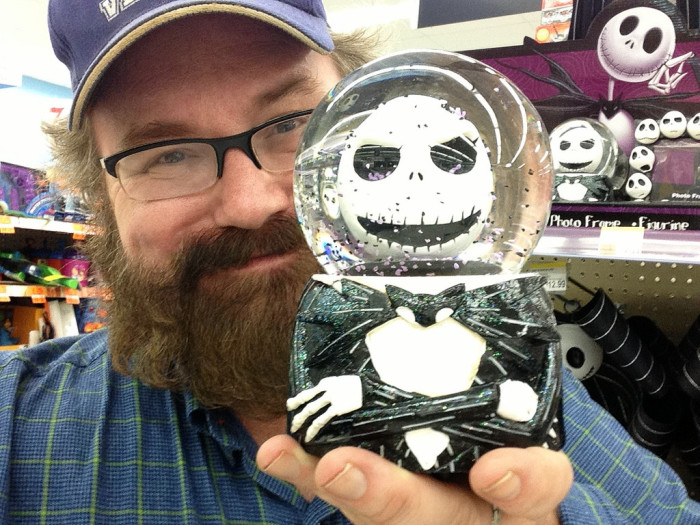 10. And, finally, you can't walk into a Michael's, Hobby Lobby, Walmart, etc. without seeing Halloween displays EVERYWHERE