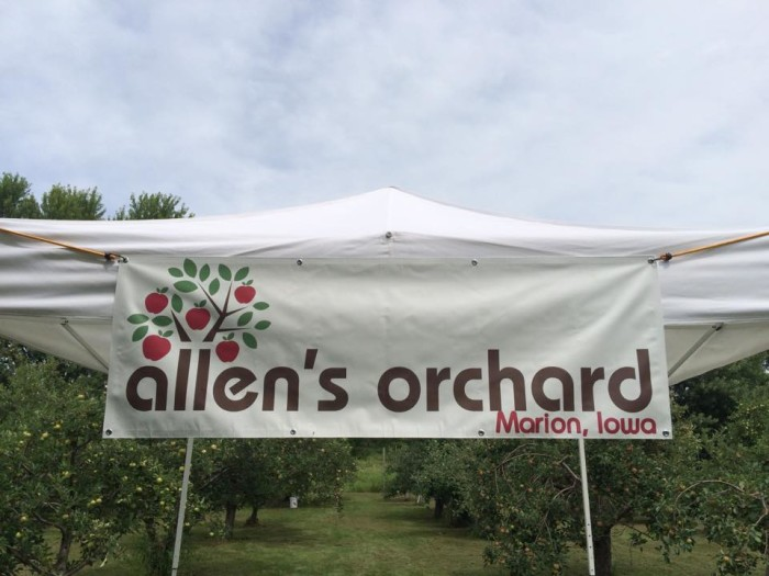 9. Allen's Orchard, Marion