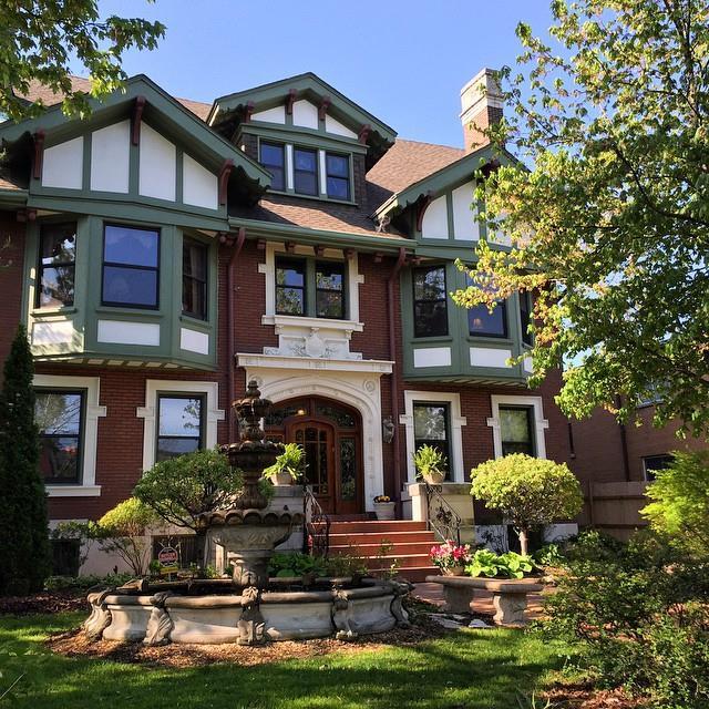 12.Fleur-de-Lys Mansion…Luxury Inn at the Park, St. Louis