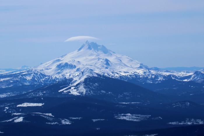 10) Mighty Mount Jefferson