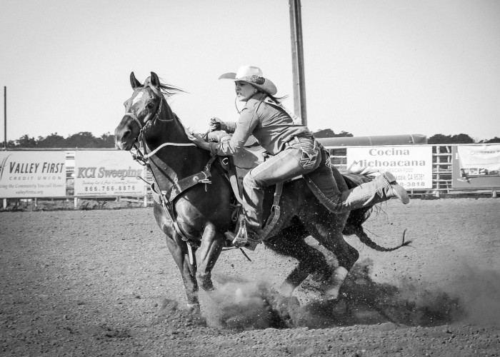 4. ...to hold a rodeo.