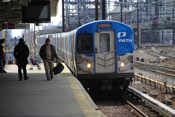 3. Though not as visually appealing as the trains above, PATH trains are air conditioned and operate 24 hours a day. They travel between several North Jersey cities and into New York. PATH stands for Port Authority Trans Hudson.