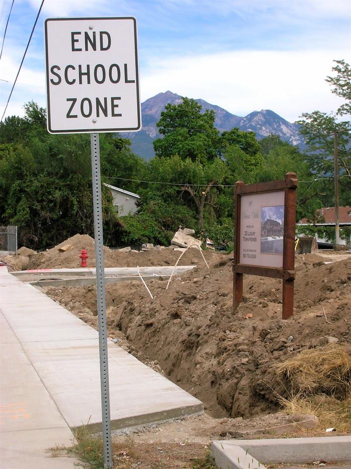 11) Where the Sidewalk Ends