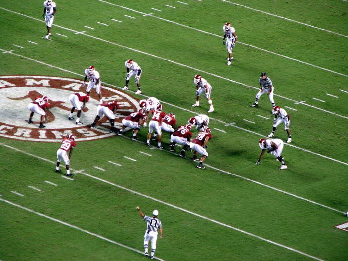 4. College football season begins.
