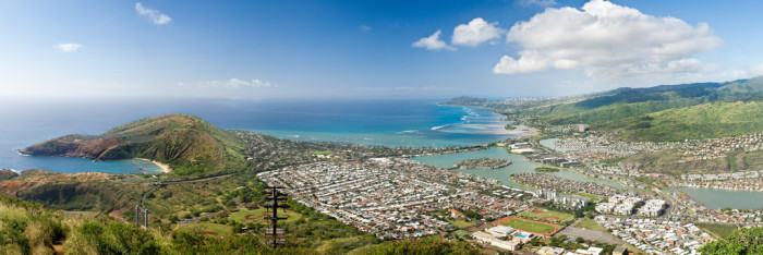 14) The view from the top of Koko Head – something about the 1,100 stairs make the view that much more rewarding.