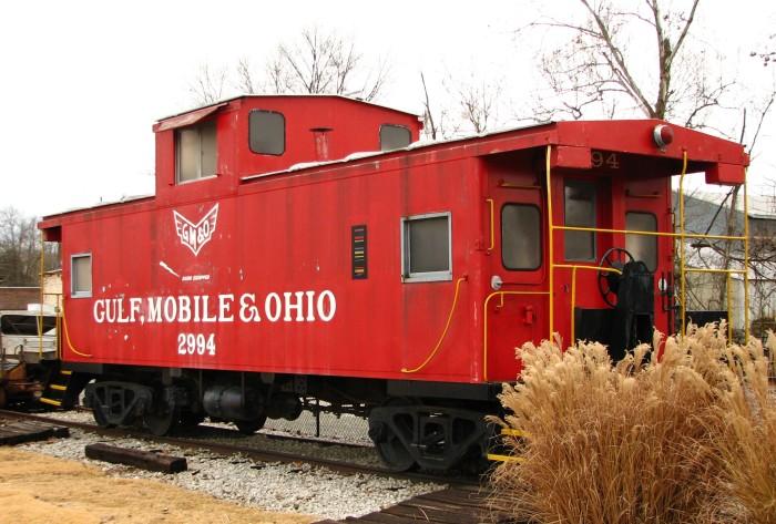 1. Gulf, Mobile, and Ohio Railroad Caboose