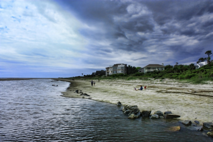 4. Early morning at Gould's Inlet, St. Simons Island, Ga.