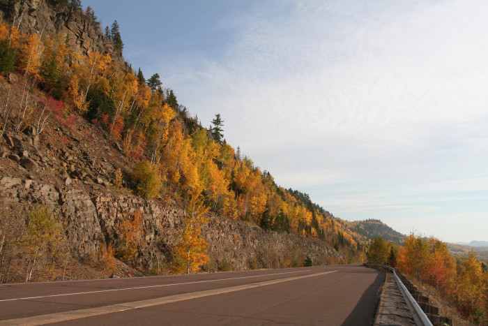 7. Highway 61 along the North Shore cannot be beat for views year round!