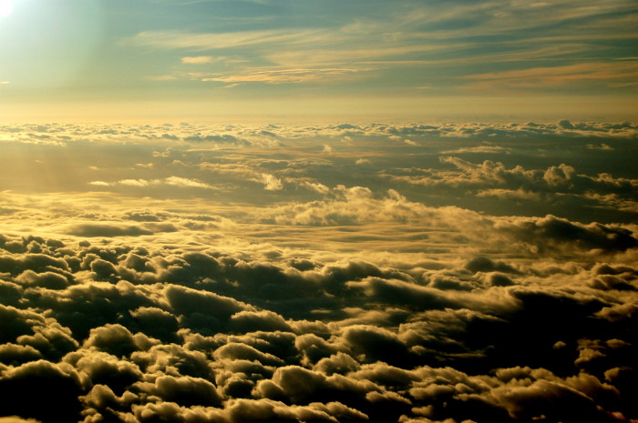 3. ...Then we will soar up through the skies above the clouds into the heavens...