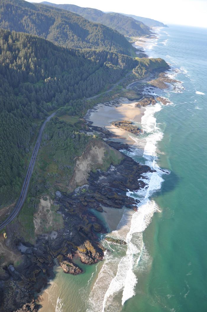 1) Cape Perpetua