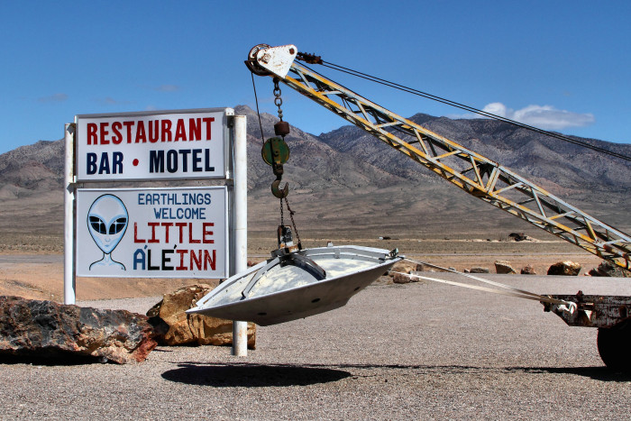 11. After moving to Nevada, you might spot an alien or two.