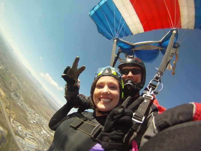 11) Skydiving, All Over the State