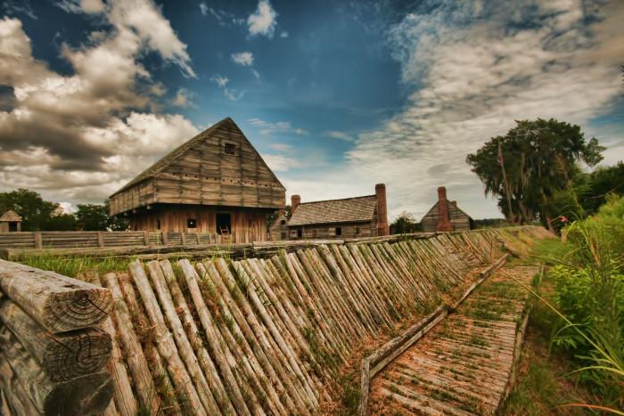 5. Fort King George, Darien, GA
