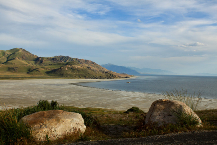 4) Antelope Island