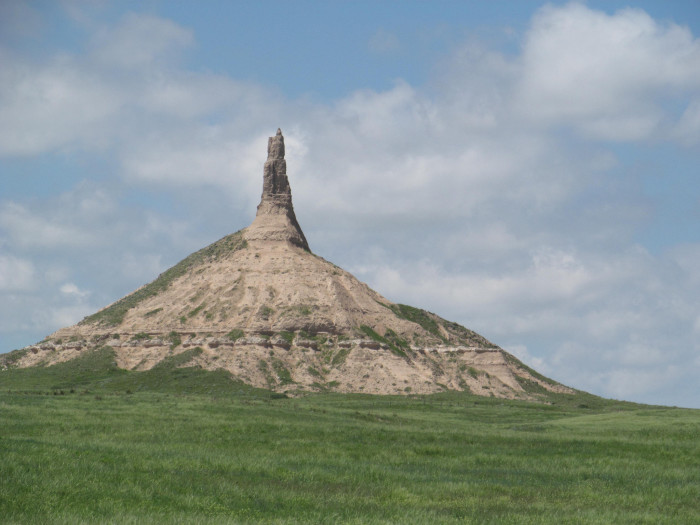 10. Chimney Rock National Historic Site, Morrill County