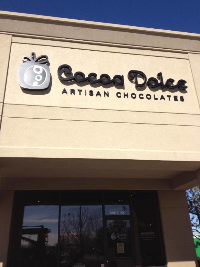 2. Cocoa Dolce Artisan Chocolates (Wichita)