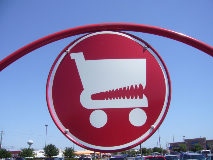 9. Shopping Carriage