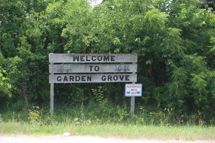 8. Garden Grove