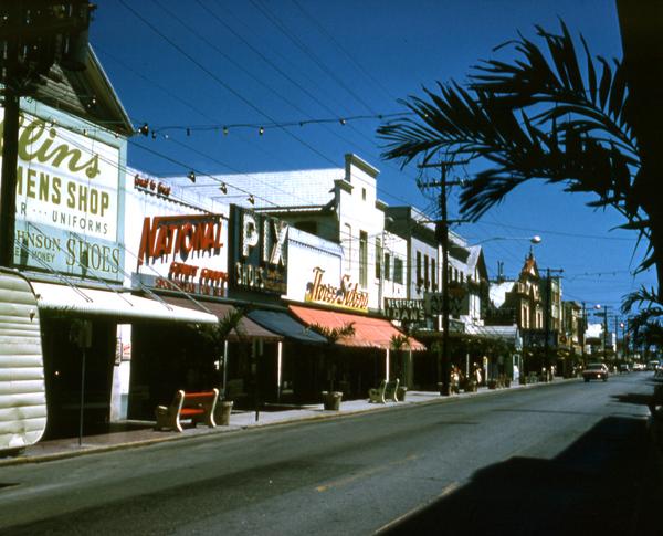 11) Duval Street, Key West, Then