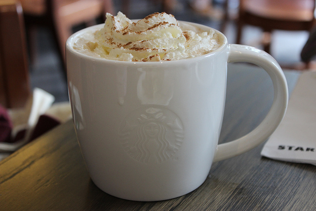4. Pumpkin spice lattes have begun to spring up everywhere...