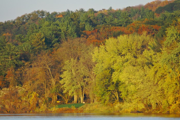 1. Interstate State Park is one of the best places for fall views right on the river! They're absolutely breathtaking!