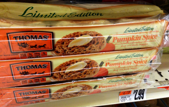 1. Everything In the Grocery Store is Now Pumpkin Spice Flavored.