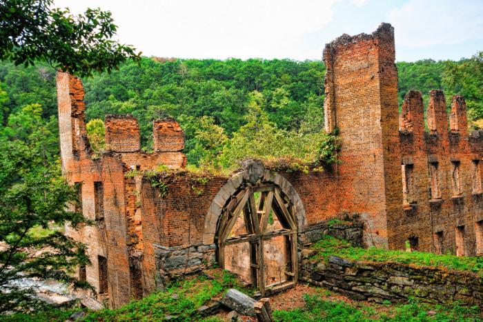 13. New Manchester Mill Ruins, Lithia Springs, GA