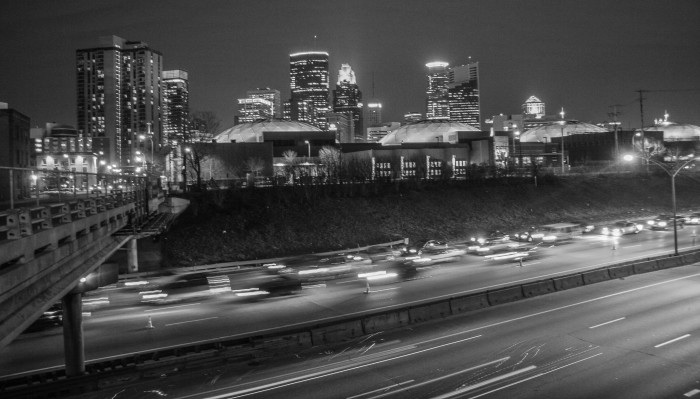 2. Rush hour in the Twin Cities, or traffic for any sporting event.