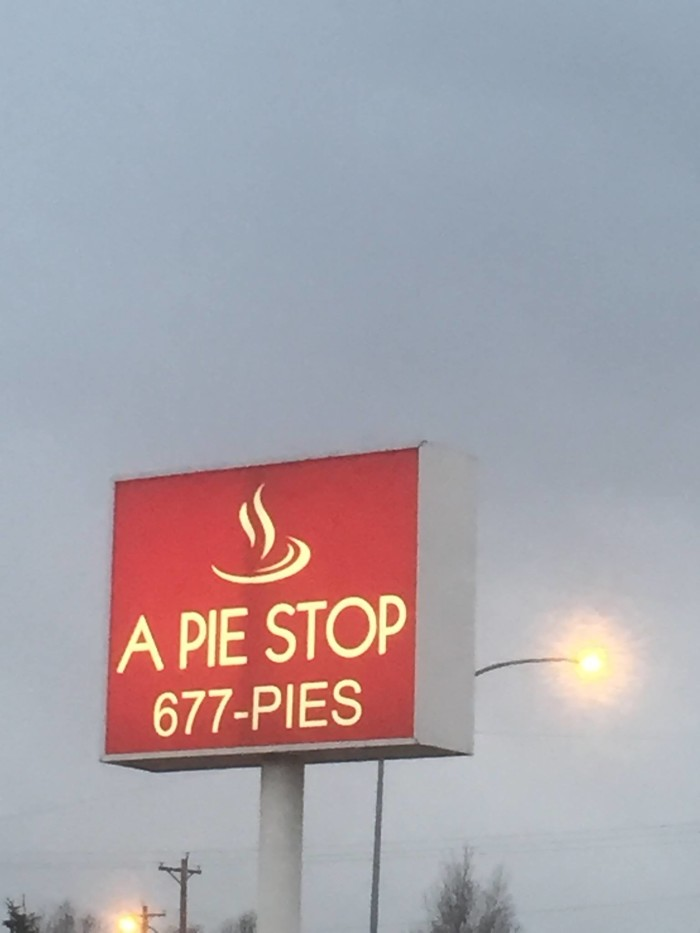 2) A Pie Stop