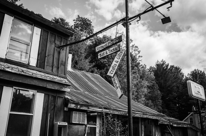 3) This abandoned country store in St. Johnsbury.