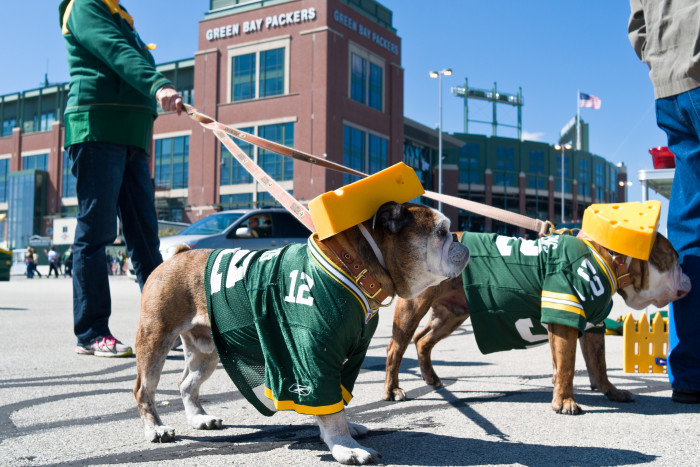 4. Cheering for the Packers in public. Unacceptable.