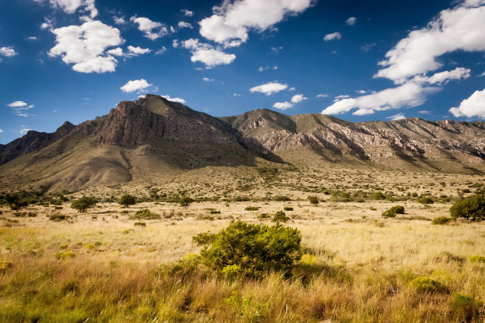 1) This photo of the Guadalupe Mountains makes me want to get out my hiking gear and get lost in the Texas wilderness.