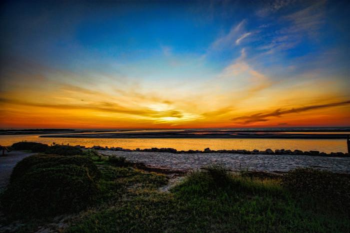 6. Gorgeous Sunrise at St. Simons Island