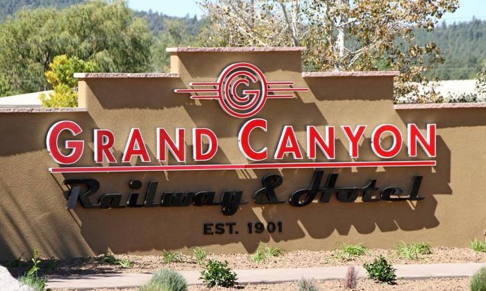 4. Grand Canyon Railway, Williams