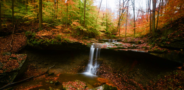1. Cuyahoga Valley National Park (Peninsula)