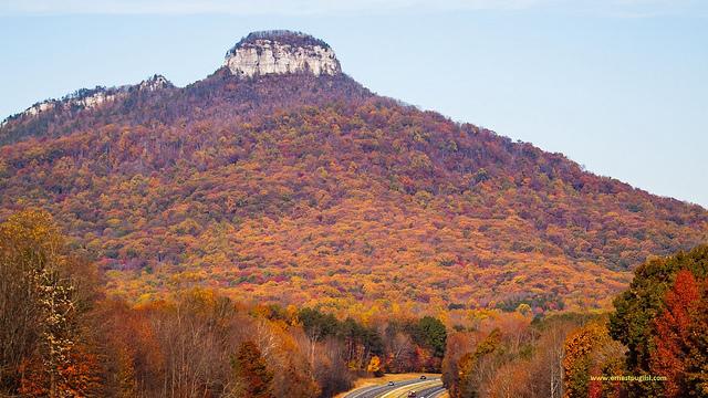 6. Pilot Mountain State Park