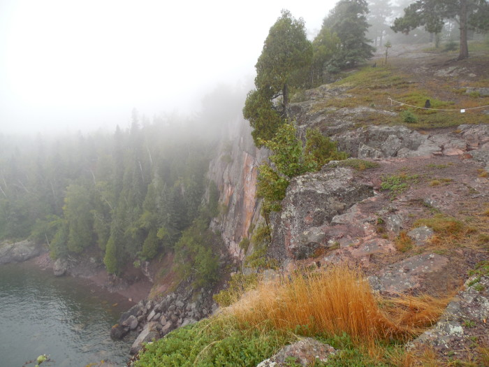 9. As will the cliffs at Tettegouche State Park especially in a heavy fog!