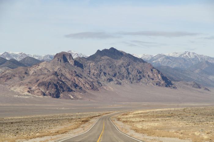 4. Big Smoky Valley Scenic Drive