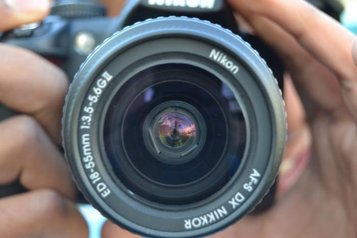 9. A camera.