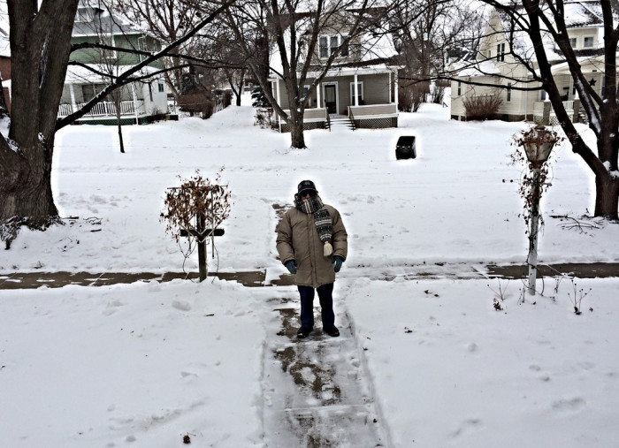 7. When Snow Was In the Forecast