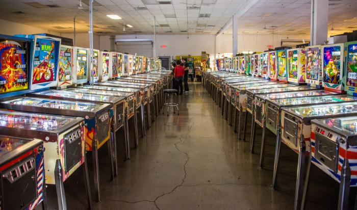 7. Pinball Hall of Fame