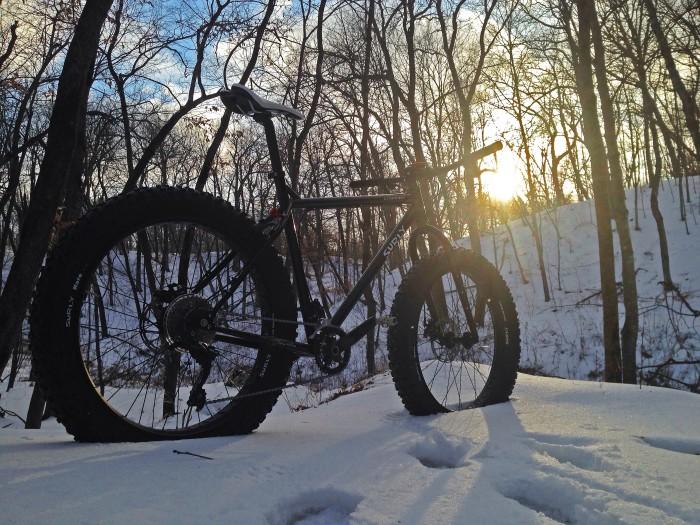 14. A bike.