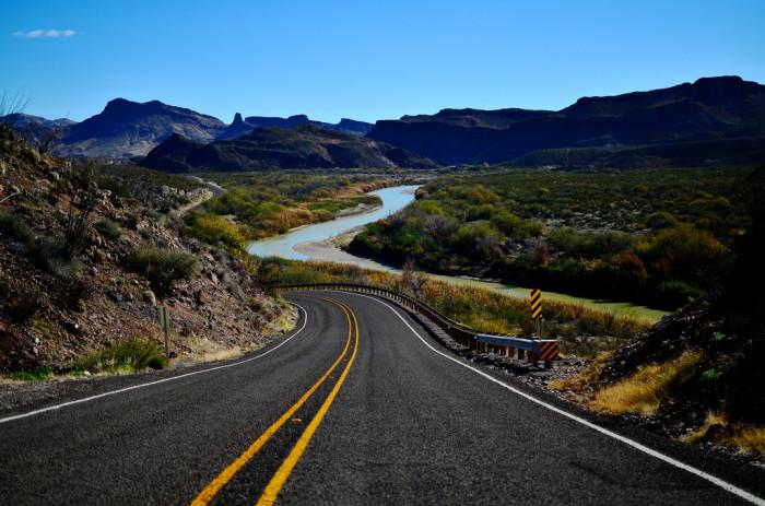 7) Gorgeous shot taken along FM 170 in Big Bend Ranch State Park.
