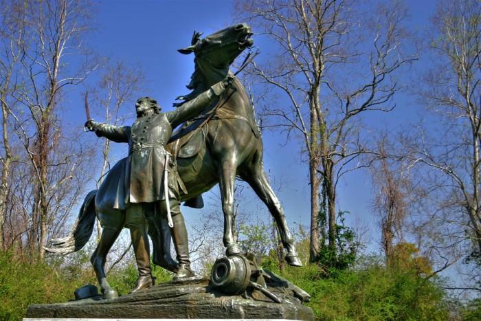 16. Vicksburg National Military Park