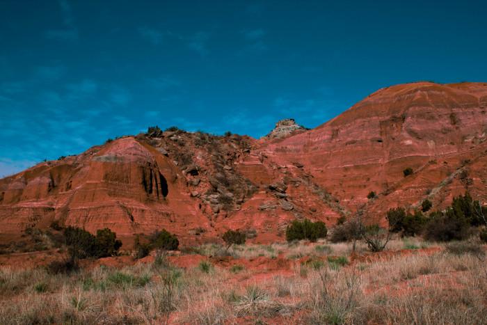 6) Palo Duro Canyon State Park