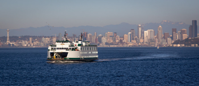 12. The largest ferry system in the U.S.