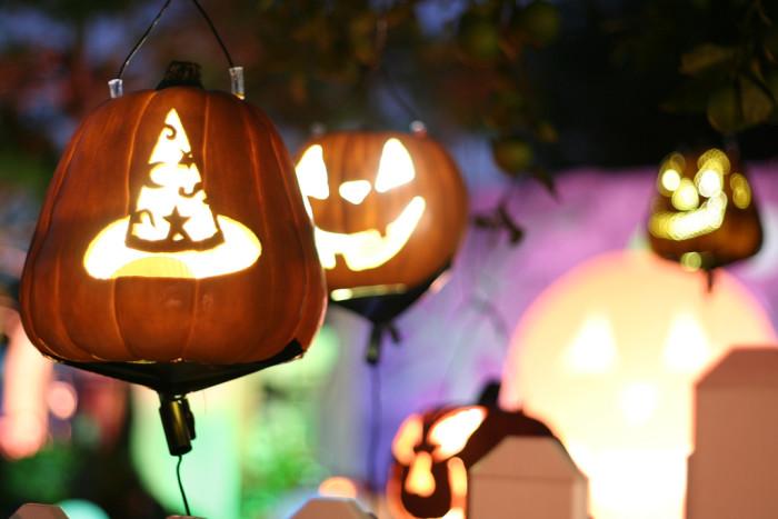 3. Start thinking about Halloween.
