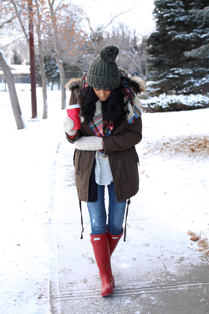 7. Warm winter clothing!